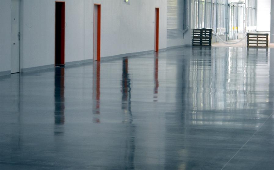 ošetření podlah Beton, Teraco